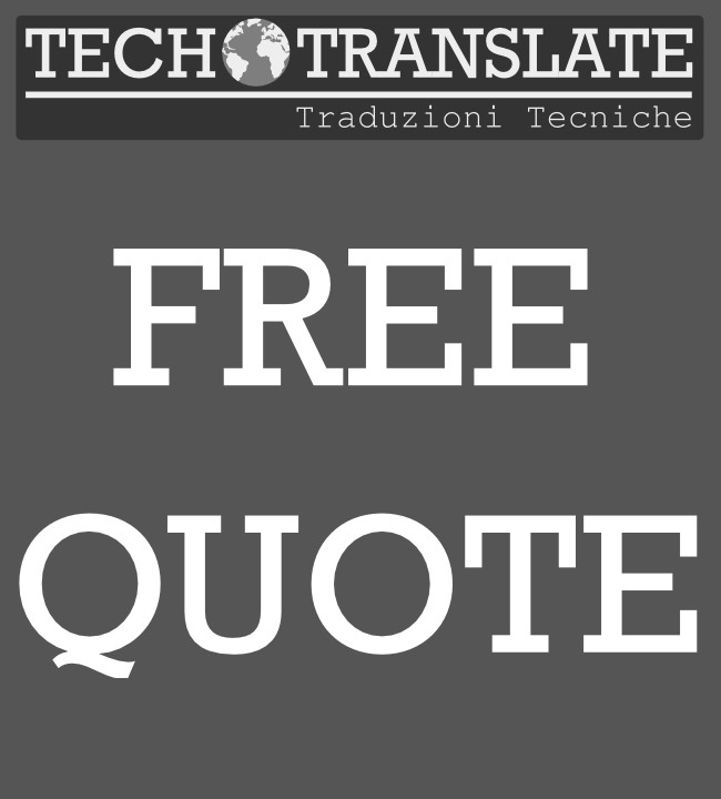 Free quote - Tech Translate